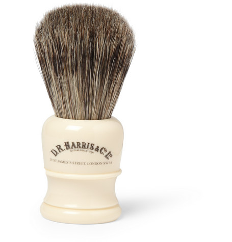 D R Harris Badger Hair Shaving Brush Mr Porter