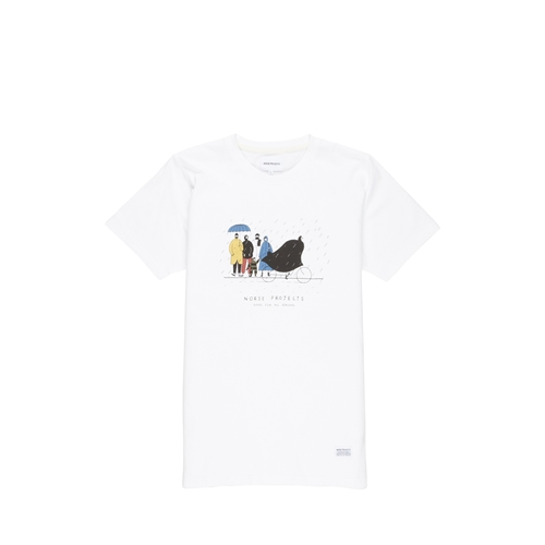 Norse Projects Niels Mondays Morning Rain T Shirt Norse Projects