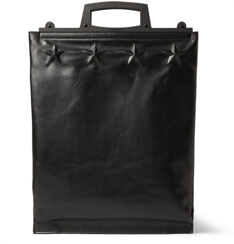 Givenchy Star Embossed Leather Tote Bag Mr Porter