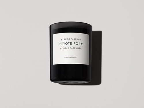 Peyote Poem Fragranced Candle Byredo Parfums Online Store