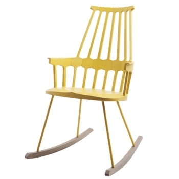 Comback Rocking Chair Yellow Kartell Comback Rocking Chair Lounge Sofas Furniture Finnish Design Shop