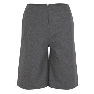 Wood Wood Women's Aretha Shorts Grey Melange Womens Clothing Free Uk Delivery Over 50