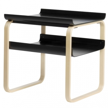 915 Side Table Black Artek Tables Furniture Finnish Design Shop