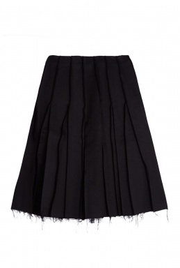 J.W. Anderson Reverse Seam Pleat Mid Length Skirt By J W Anderson