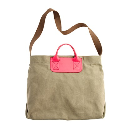 The Contrast Caravan Mailbag bags Women s ACCESSORIES Madewell