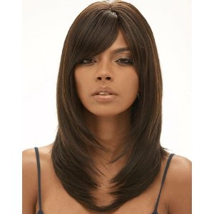 Amazon com Human Hair Quality Wig Ella By Janet Collection Color 2 Beauty