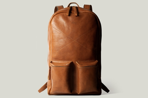 Leather Rucksack Backpack. Fits Up To A 15 Macbook Pro. Handmade In Italy. Hard Graft
