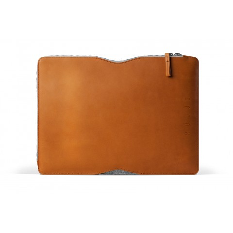 Mujjo 13 Macbook Folio Sleeve Tan