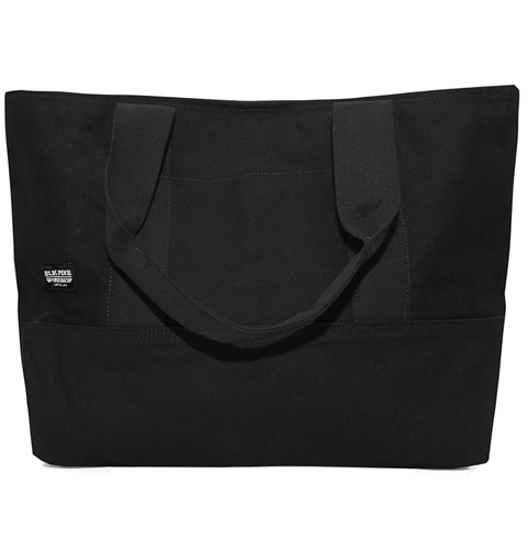 Blk Pine Standard Medium Canvas Tote In Black Huh. Store