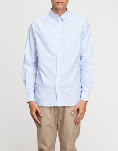 Monogram Oxford Button Down Sh