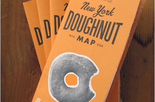 New York Doughnut Map Herb Lester