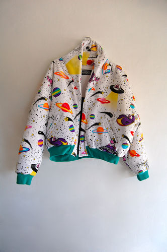 Rare Jeremy Scott Fall 2007 Happy Daze Men s Puff Jacket eBay