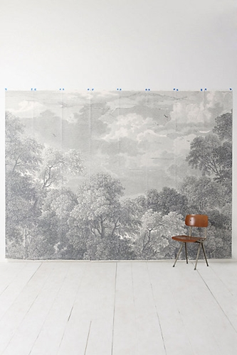 Etched Arcadia Mural Wallpaper Anthropologie.Eu