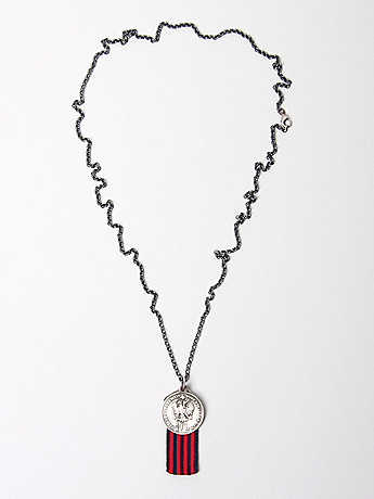 Miansai Sterling Silver Charm Necklace in silver at oki ni