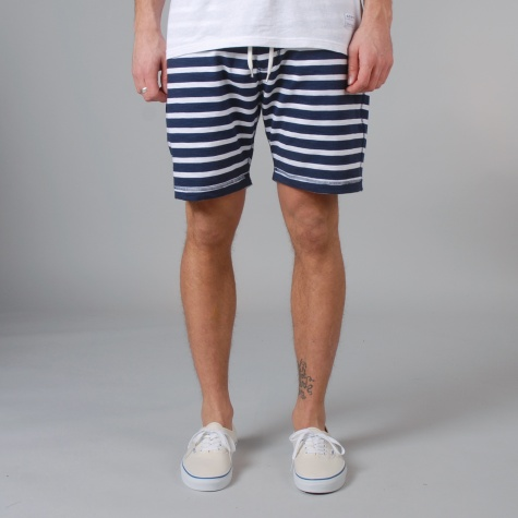 Norse Projects Ro Short Compact Jersey Shorts Navy