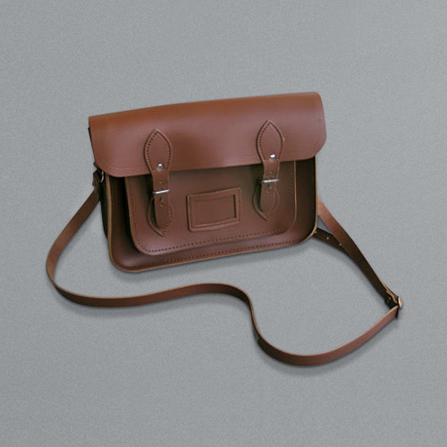 LABOUR AND WAIT Small Satchel Tan
