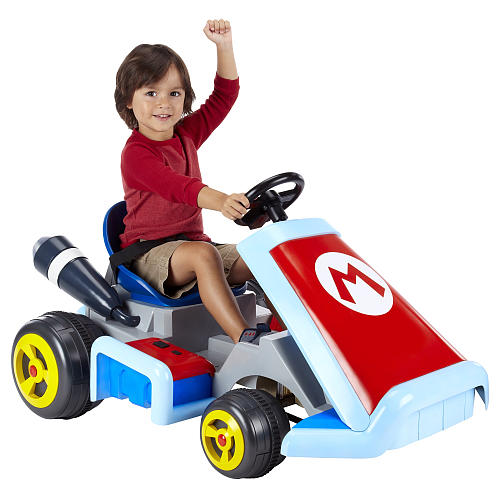 Super Mario Kart Ride On Vehicle Toysrus