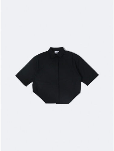 Oak Cropped Panel Shirt Oak