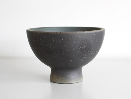 Dark Blue Spotted Bowl By Mushimegane Books Oen Shop