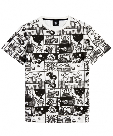 Lazy Oaf Comic Zoom T Shirt