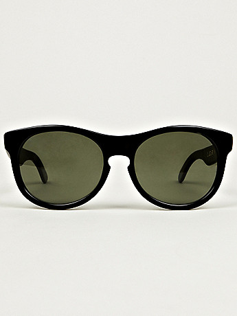 L G R x A P C Sunglasses in black at oki ni
