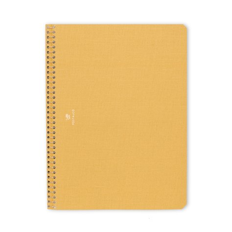 A5 Notebook Yellow J Shoppe