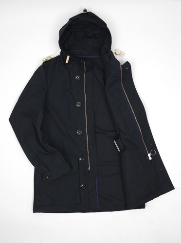 Nigel Cabourn Classic Parka Unlined Present London