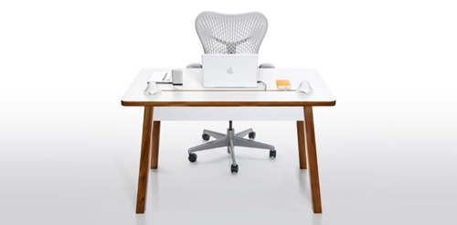 Bluelounge StudioDesk A traditional workspace with a modern twist