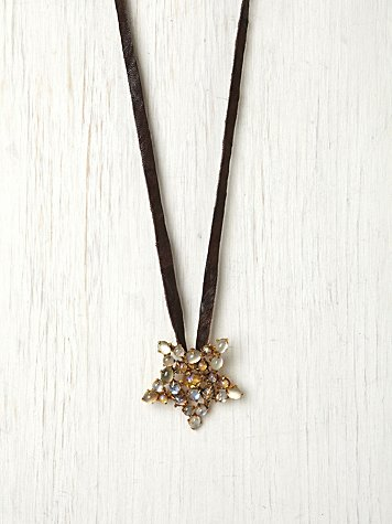 Bess Star Pendant at Free People Clothing Boutique