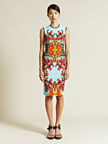 Givenchy Women s Printed Short Sleeved Dress LN CC
