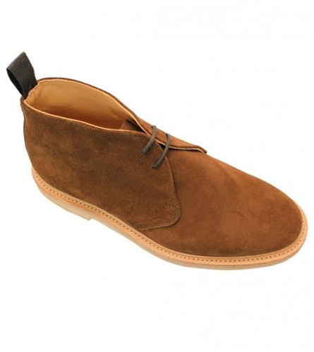 Suede Chukka Boots Accessories Drakes London
