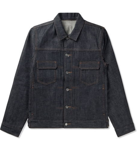 A.P.C. Indigo Veste Jean Work Jacket Hypebeast Store. Shop Online For Men's Fashion Streetwear Sneakers Accessories