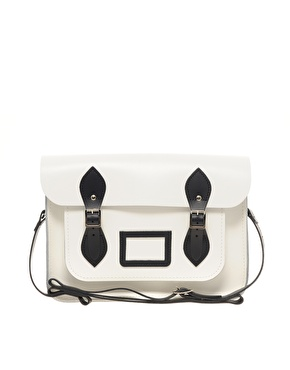 Cambridge Satchel Company Cambridge Satchel Company 13 Exclusive to Asos Contrast Trim Satchel at ASOS