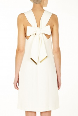 Sophie Hulme Bow Back Dress By Sophie Hulme
