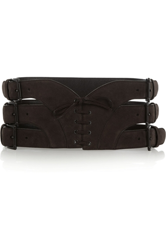 Lace Up Suede Belt Alaia 50 Off The Outnet