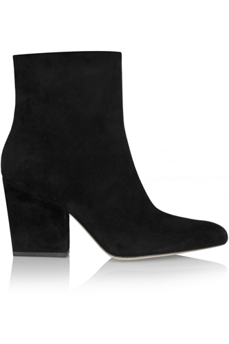 Sunniva Suede Ankle Boots Alexander Wang 55 Off The Outnet