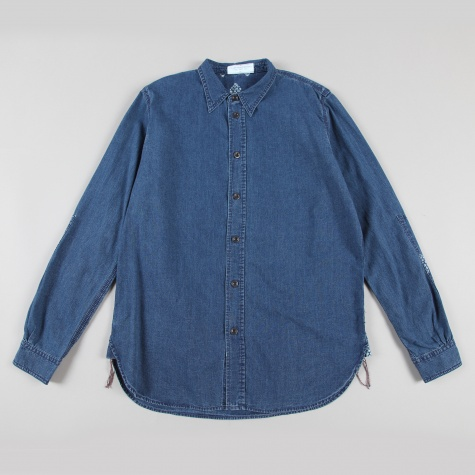 Paul Smith Indigo Chambray Shirt Indigo