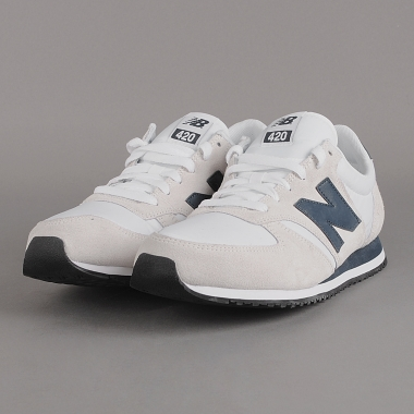 sneaker new balance u420swb weiss by florence nuji. Black Bedroom Furniture Sets. Home Design Ideas
