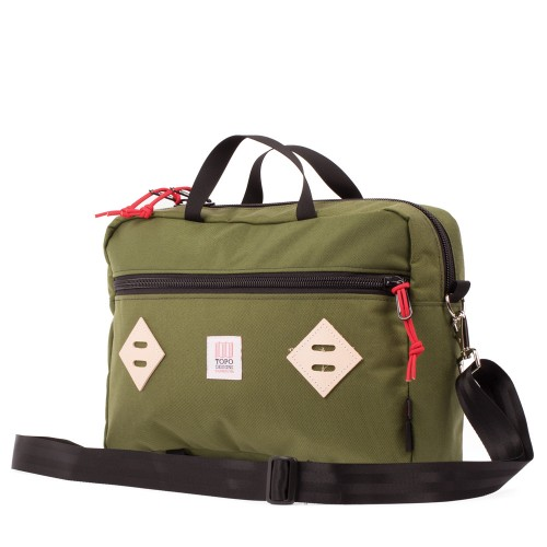 Topo Designs Mountain Briefcase Olive Undscvrd