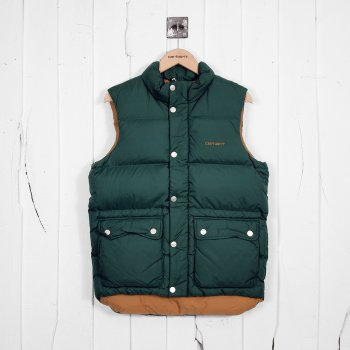 Carhartt Raleigh Vest Cedar Carhartt Brown At Denim Geek