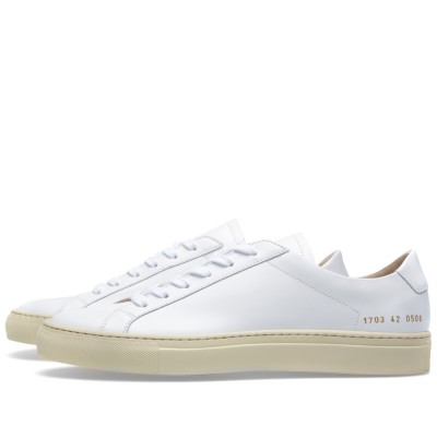 Common Projects Original Vintage Low White