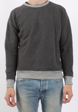 Han Worker Crew Neck Grey Pede Stoffer webshop