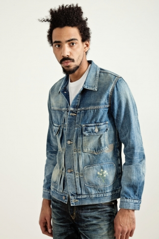 Visvim Social Sculpture 101 Jacket Damaged Indigo Tres Bien Shop