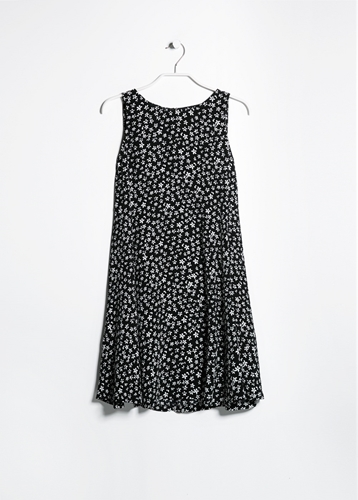 Printed Flared Dress Dresses For Women Mango