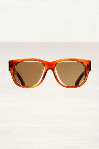 Maison Martin Margiela Brown Wrong Fit Sunglasses