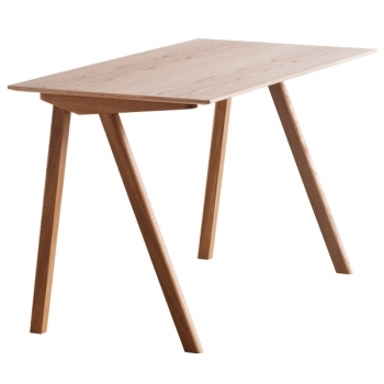 Copenhague Cph90 Desk Lacquered Oak Hay Copenhague Tables Furniture Finnish Design Shop