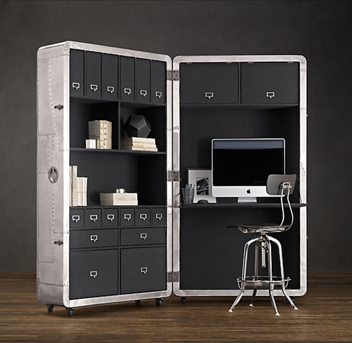 Blackhawk Secretary Trunk Desks Restoration Hardware