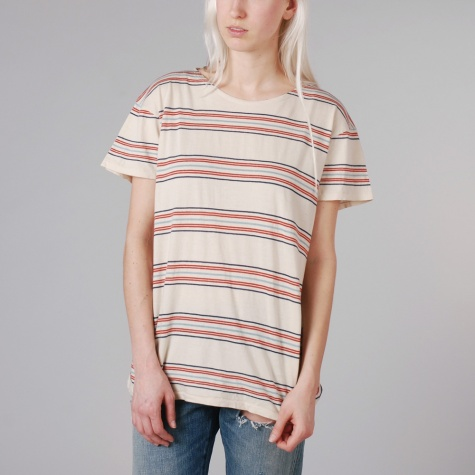 Levis Vintage Bay Meadows Tee Multi Stripe
