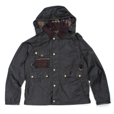 Barbour Fishing Standen Jacket In Olive Atoo.Co.Uk