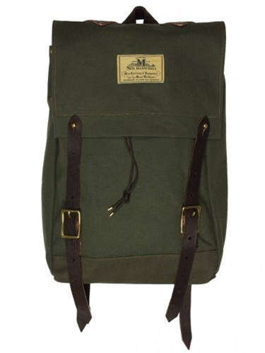 Seil Marschall Canvas Olive Mini Canoe Rucksack Bags Wallets Other Brands Seil Marschall Bags